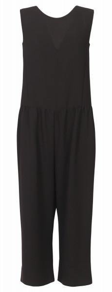Shirtaporter Jumpsuit schwarz ärmellos