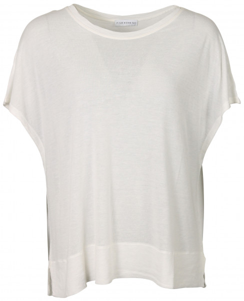 Women's Fine Edge Casual Seamless Tee White