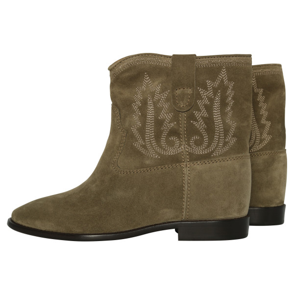 Women's Isabel Marant Boots Crisi Taupe