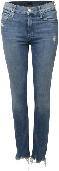 Mother Jeans The Rascal Ankle blau