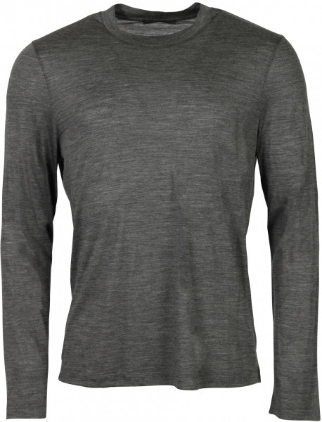 Men's Helmut Lang Wool Longsleeve Medium Grey