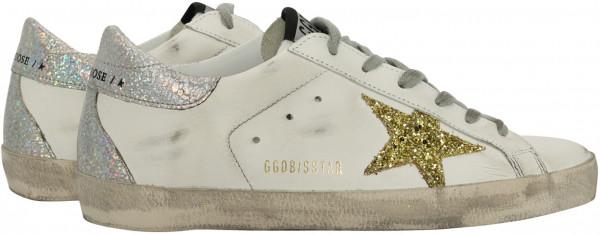 Women's Golden Goose Sneaker Superstar White/Gold Star/Silver Back