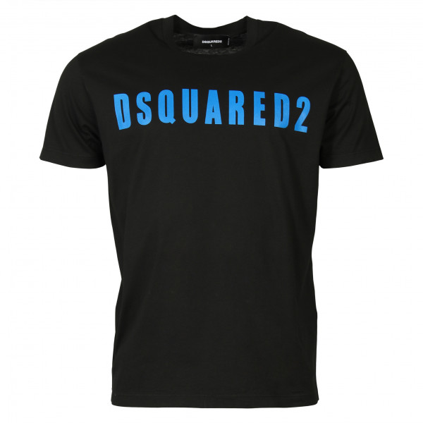 Men's D2 Dsquared T-Shirt black blue