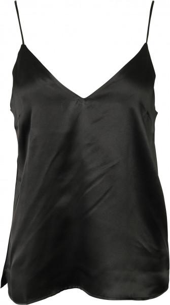 Women's Anine Bing Silk Top Gwyneth Black