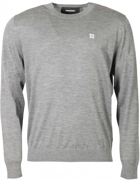 Men's Dsquared Pullover Heathergrey