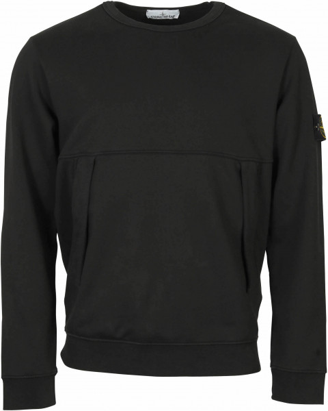 Men's Stone Island Sweatshirt Black