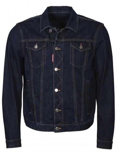 Men's Dsquared Raw Denim Jacket