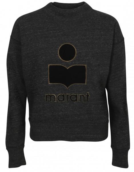 Women's Isabel Marant Étoile Sweatshirt Moby Anthracite Melange
