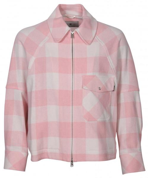 Women's Woolrich Overshirt Timber Light Pink Check