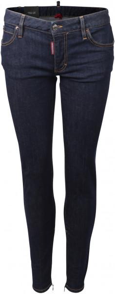 Dsquared D2 Medium Waist Twiggy Jeans dunkelblau