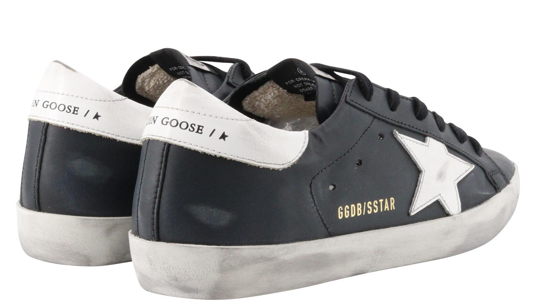 Women's Golden Goose Sneaker Superstar Black/White