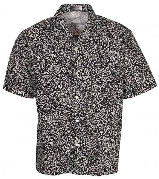 Men's Isabel Marant Shirt Lazlo Black/White Printed