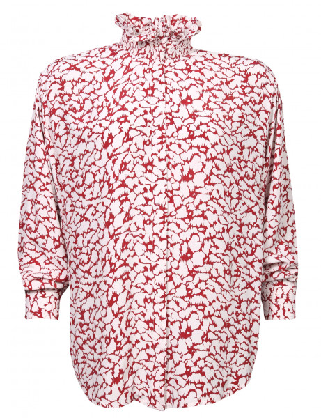 Women's Isabel Marant Étoile Blouse Catchelae Red/White Printed