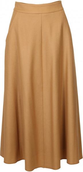 Women's Susanne Bommer Wool Skirt Caramel