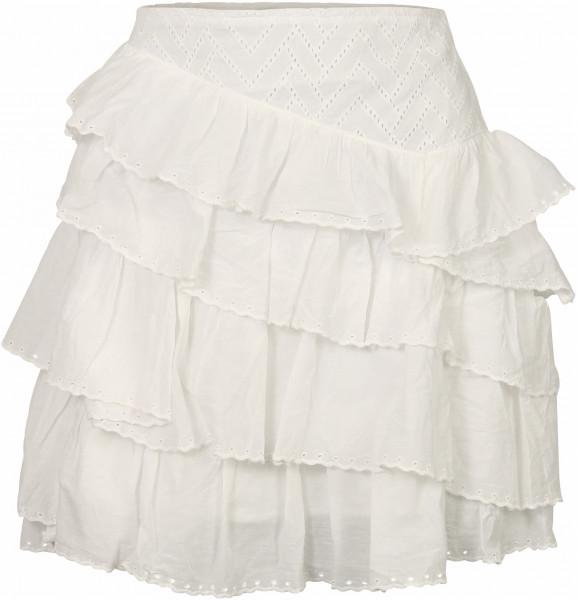 Women's Nikkie Ruffle Skirt Off White