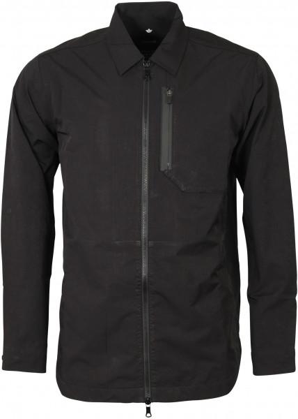 Men's Maharishi Overshirt Miltype Print Black