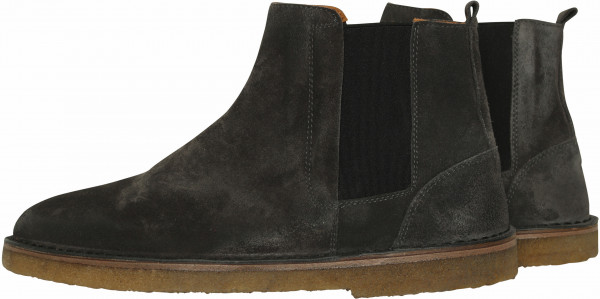 Men's Golden Goose Boots Portman Darkgrey Suede