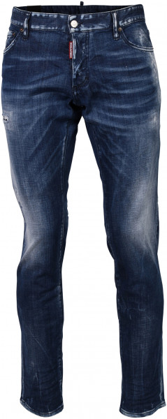 Men's D2 Dsquared Jeans Slim washed blue