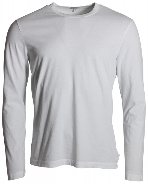 James Perse Crew Neck Longsleeve weiss MLJ3351