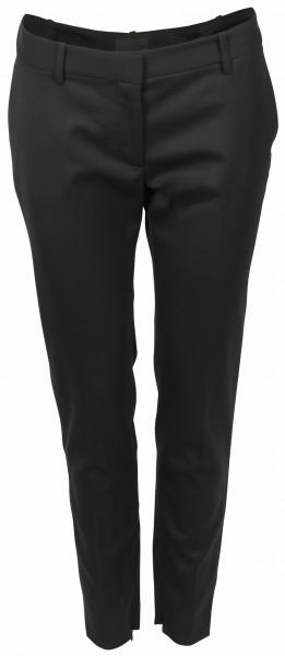 Women's Nili Lotan Wool Suit Pant Leo Black