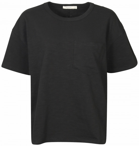 Women's Rag & Bone Oversized T-Shirt Black