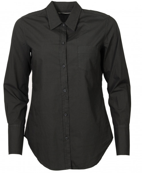 Women's Nili Lotan Cotton Shirt NL Black
