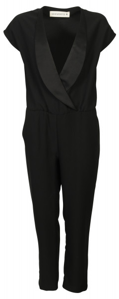 Shirtaporter Overall Jumpsuit schwarz