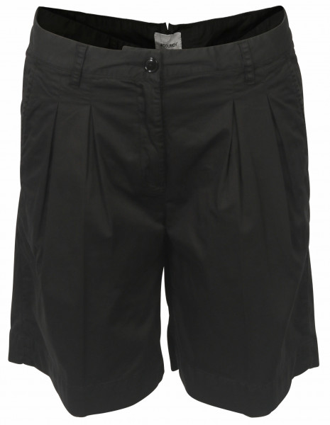Women's Woolrich Cotton Satin Shorts Black