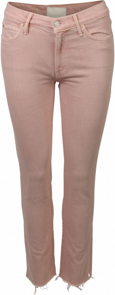 Women's Mother Cropped Jeans Blush Pink