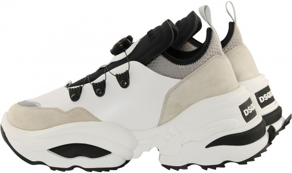 Women's Dsquared Sneaker Black/White