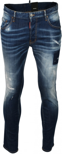 Men's Dsquared Jeans Skater Blue Washed