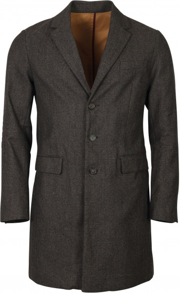 Men's Dsquared Check Coat Brown