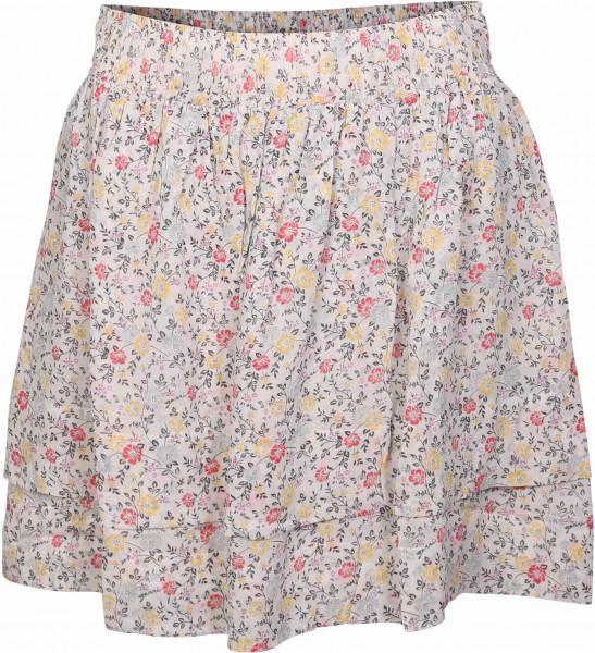 Women's Ganni Viscose Skirt Light Flowerprint